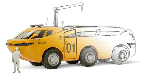 промышленный дизайн транспортных средств и вездеходов